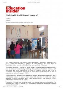 Education Insider-Churu -24th Nov '14_1